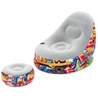 Надувное кресло Graffiti Comfort Cruiser 75076
