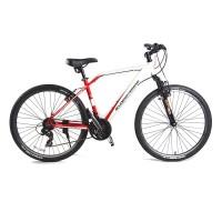 Велосипед FB2619-2117WR Кросс Кантри 21 скорость бело-красный