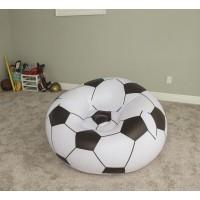 Надувное кресло Футбольный мяч 75010