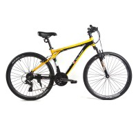 Велосипед TL2751-2117YB Кросс Кантри 21 скорость желто-черный